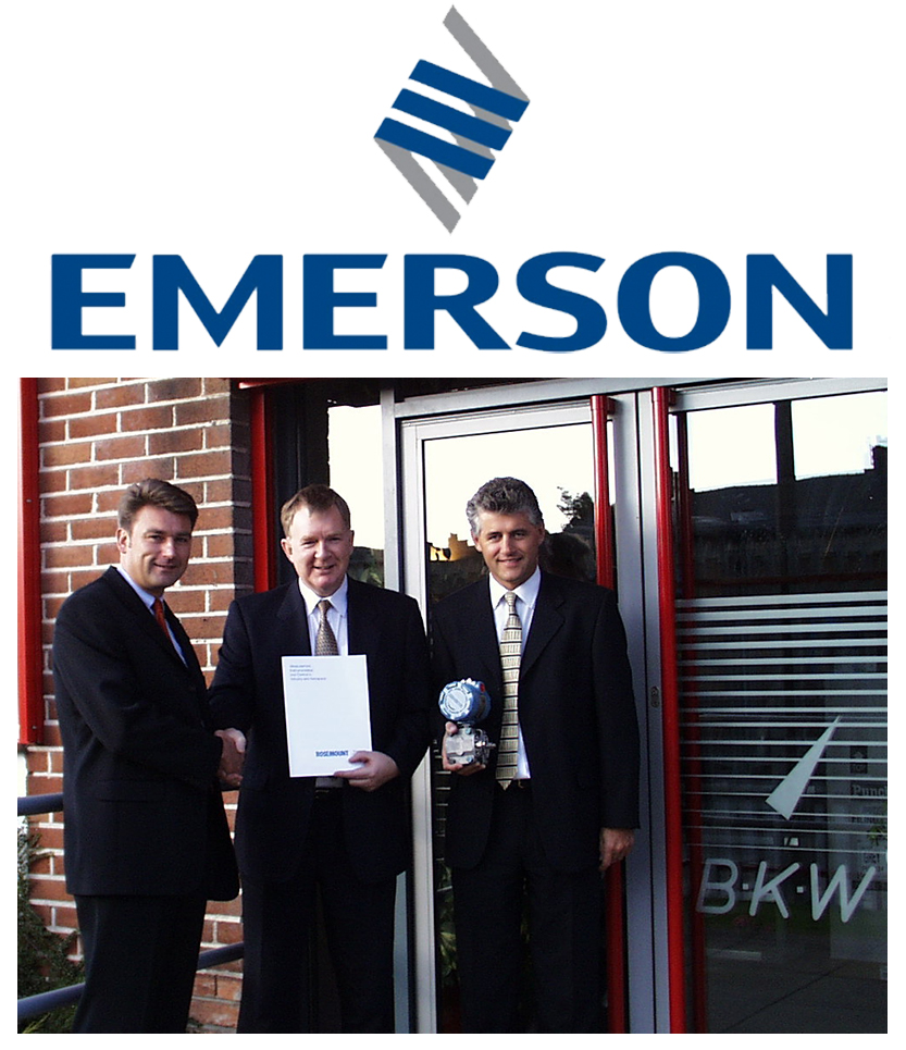 Emerson Appoints BKW 1998