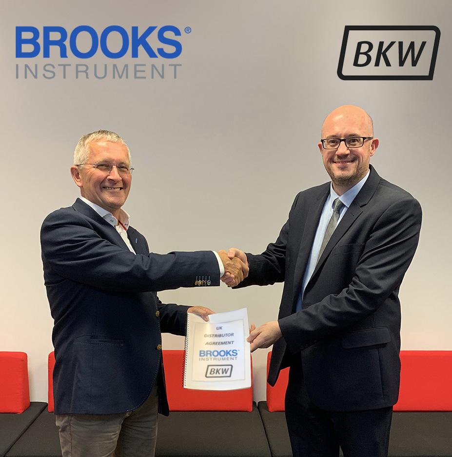 Brooks Instrument agreement